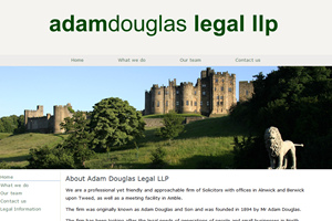 Adam Douglas, Solicitors